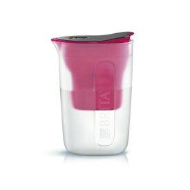 【5500円(税込)以上で送料無料】BRITA ブリタ 浄水 ポット 1.0L ファン ピンク ポット型 浄水器 マクストラプラス カートリッジ 1個付き