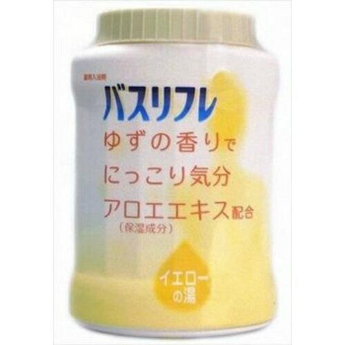 【5500円(税込)以上で送料無料】ライオン バスリフレ 薬用入浴剤 ゆずの香り 本体 680g