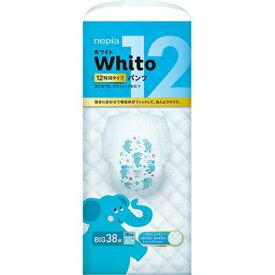 【あわせ買い2999円以上で送料無料】ネピア Whito ホワイトパンツ Bigサイズ 12時間タイプ 38枚