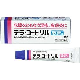 【第(2)類医薬品】テラ・コートリル 軟膏a 6g