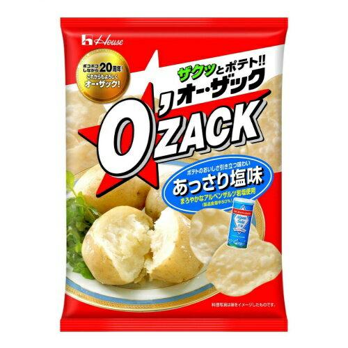 【送料無料】ハウス食品 オーザック あっさり塩 68g×12個セット