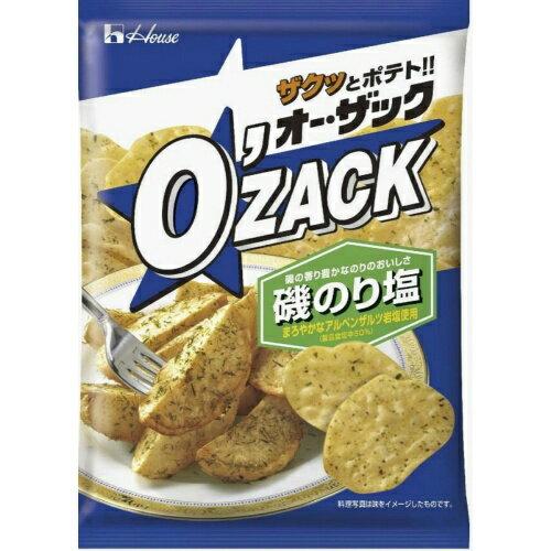 【送料無料】ハウス食品 オーザック 磯のり塩 68g×12個セット