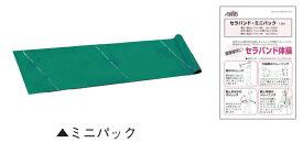 【クリックポスト発送(ポスト投函・指定日配達不可)で送料無料】 セラバンド ミニパック 1.5m (緑・中) T131-10  初めて試されたい方に リハビリ 手術 トレ−ニング 運動