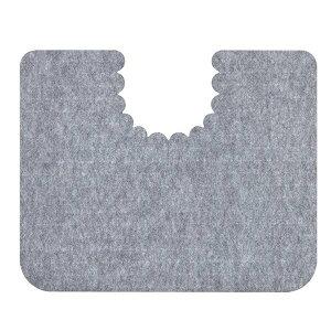サンコー トイレ用 床汚れ防止マット 5枚組 KH-16 グレー