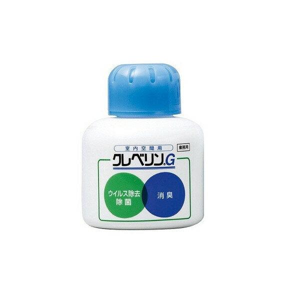 二酸化塩素分子のチカラが空間に浮遊するウイルスや菌、ニオイを除去 クレベリン G 150g 大幸薬品 クレベリンゲル 据置タイプ