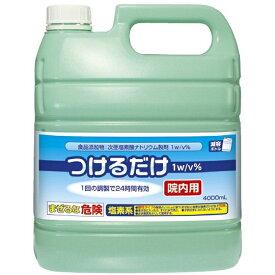 次亜塩素酸ナトリウム1.0%製剤 つけるだけ 院内用 / 1215830 4L ジェクス