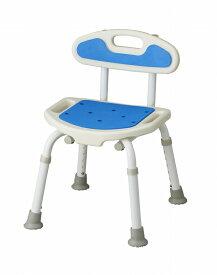 福浴 コンパクトシャワーチェア FKW-01-C ブルー お風呂 椅子 介護