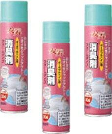 約24時間消臭効果が持続 ポータブルトイレ用消臭剤 フォームタイプ 533-206 280mL 3本セット 無香料タイプ アロン化成 あす楽