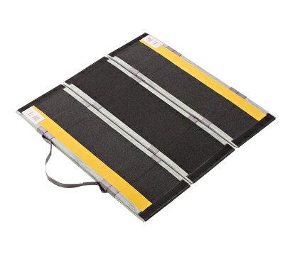 【送料無料】 折りたたみ式軽量スロープ デクパック パーソナル 長さ70cm JANコード: 4958519411106