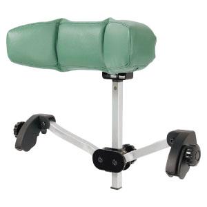 あす楽 エスケイ商事 車椅子用ヘッドレスト あんしん君 色(2種類):ブラック / グリーン 取付簡単 工具不要 取り付けたまま折りたたみ可能