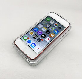【中古】Apple iPod touch(7th generation/2019)32GB MVHX2J/A (PRODUCT) RED 【ポータブルオーディオ/ミュージックプレーヤー】【家電】