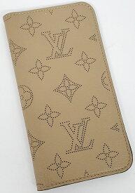 【中古】Louis Vuitton ルイヴィトン フォリオ マヒナ iPhone X/XS 日本限定 M68886 スマホケース