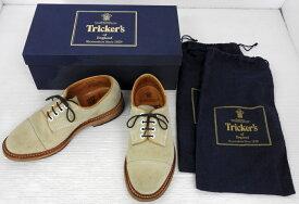 【中古】Tricker's/トリッカーズ/M7195/ストレートチップシューズ/サイズ7.5/約26cm/革靴【靴/シューズ】【米子店】