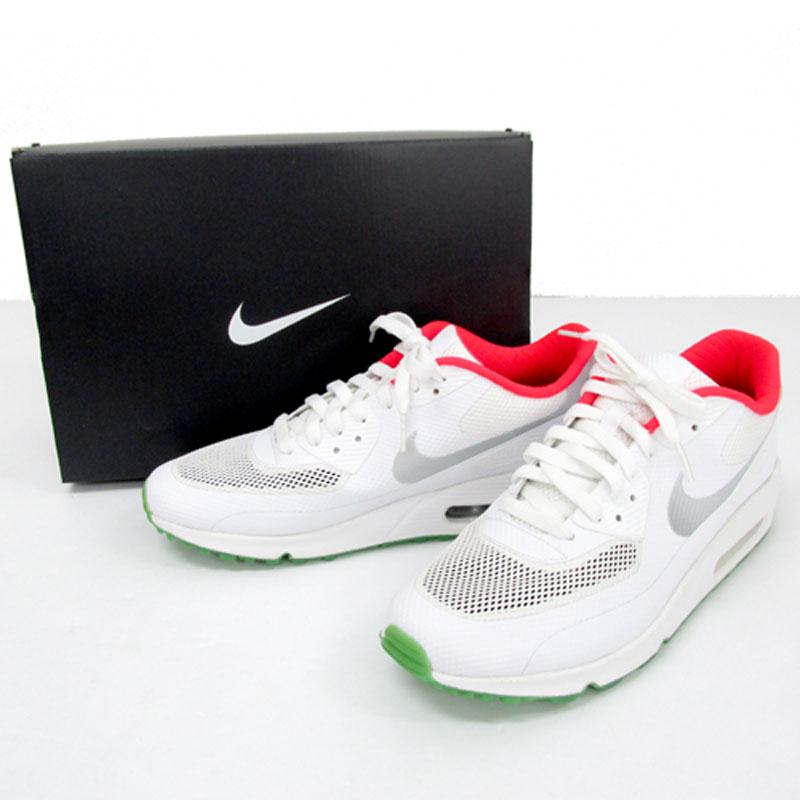 【中古】【メンズ古着】NKE ID ナイキ AIR MAX 90 エアマックス サイズ:28.5cm/カラー:ホワイト/スニーカー/靴 シューズ【山城店】