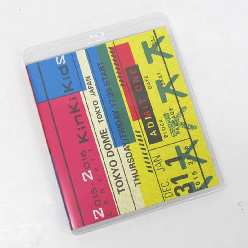 【中古】KinKi Kids 2015-2016 Concert KinKi Kids(通常仕様)/ アイドル Blu-ray【CD部門】【山城店】