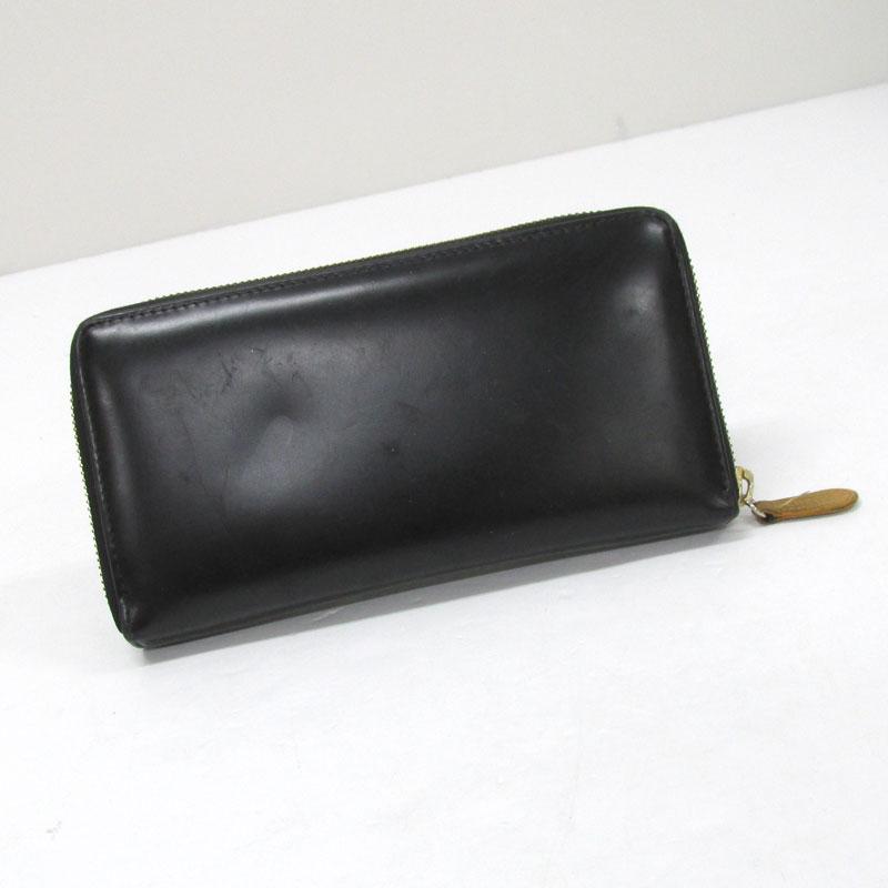 【中古】ETTINGER エッティンガー ラウンドファスナー長財布 カラー:ブラック《財布/サイフ/ウォレット》【服飾小物】【山城店】