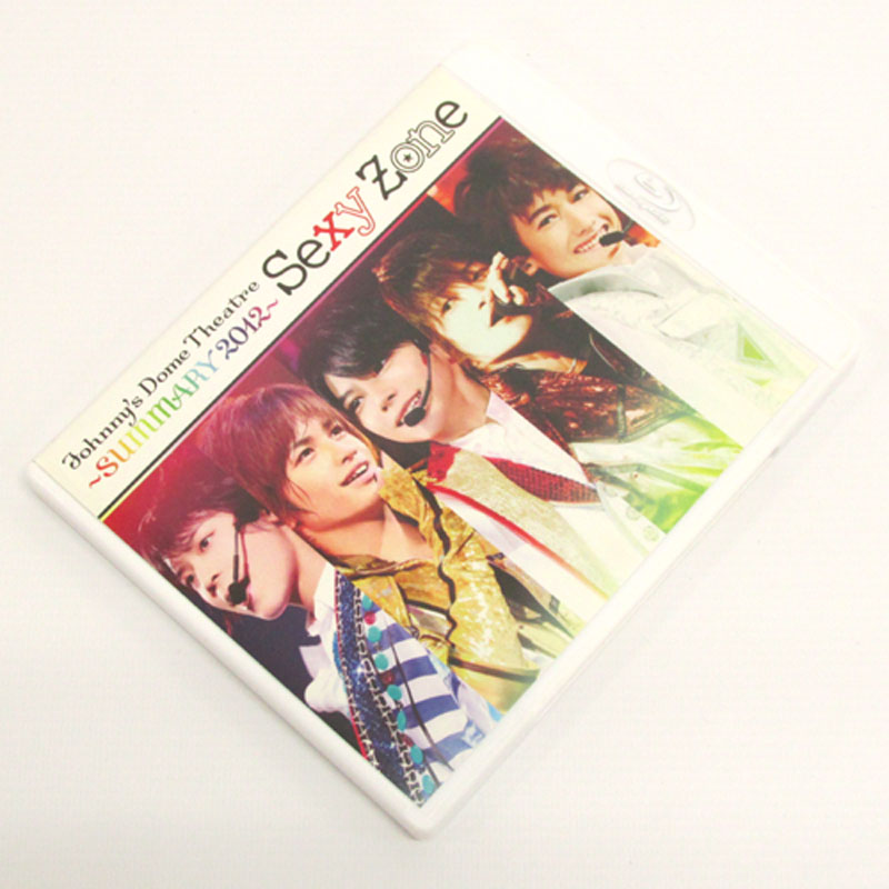 【中古】《Blu-ray》Sexy Zone Johnny's Dome Theatre~SUMMARY2012~ Sexy Zone/男性アイドルBlu-ray【CD部門】【山城店】