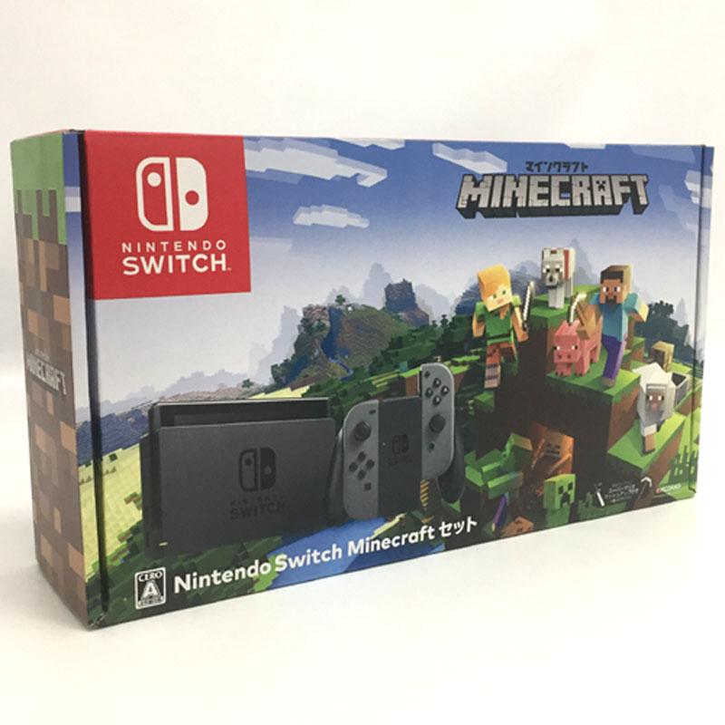 【中古】任天堂 スイッチ Nintendo Switch Minecraft セット【Nintendo Switch】【ゲーム】【山城店】