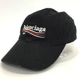 【中古】【メンズ古着】BALENCIAGA バレンシアガ Campaign Logo Cap 2017 キャンペーンロゴキャップ 2017/帽子【山城店】