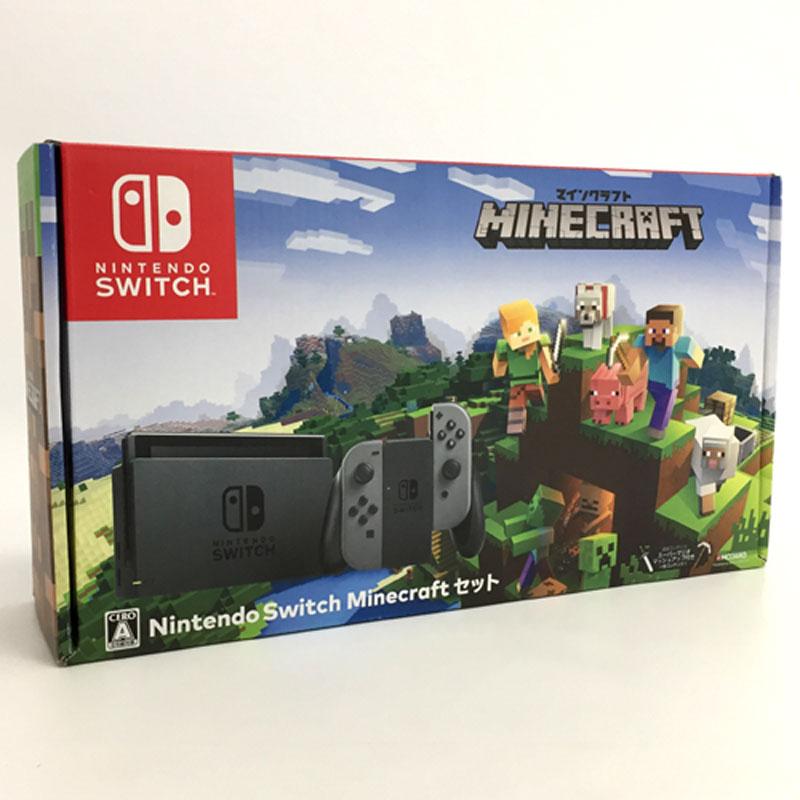 【中古】任天堂 ニンテンドースイッチ Nintendo Switch Minecraft セット【Nintendo Switch】【ゲーム】【山城店】