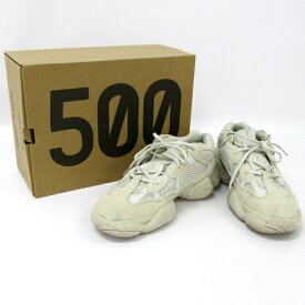 a0cad7671792c 中古  中古 adidas アディダス YEEZY 500 YEEZY DESERT RAT 500 イージー デザート ラット  500 スニーカー メンズ古着  山城店