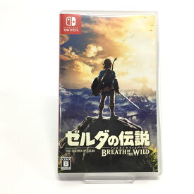 【中古】【クリックポスト発送可】ゼルダの伝説 ブレス オブ ザ ワイルド【Nintendo Switch ソフト】【ゲーム】【山城店】