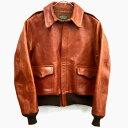 【中古】 THE FEW フュー A-2 Leather Jacket レザー ジャケット /アメカジ 【メンズ古着】【山城店】