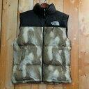【size: S】Supreme × The North Face Fur Print Nuptse Vest シュプリーム × ザ ノースフェイス ヌプシ ベ...