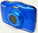 【中古】Nikon/ニコン コンパクトデジタル カメラ COOLPIX S33 ブルー 【デジタルカメラ】【コンデジ】【福山店】[171]