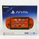 【中古】SONY PlayStation Vita PCH-2000 Wi-Fiモデル メタリック・レッド/プレイステーションヴィータ/PS VITA 本体【ゲ...