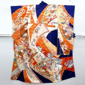 【着物】振袖(長襦袢付き)と袋帯のセット しつけ付未使用品【中古】【山城店】