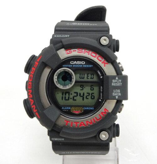 G-SHOCK(ジーショック) FROGMAN 時計/品番:DW-82001A/フロッグマン/海外モデル/電池/カラー:グレー 系《腕時計/ウォッチ》【服飾小物】【中古】【山城店】