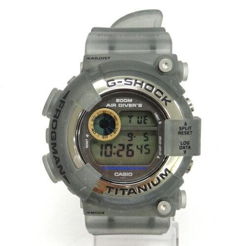 G-SHOCK(ジーショック) FROGMAN 時計/DW-8200-AC-8T/フロッグマン/アメリカズカップ/スケルトン グレー 系《腕時計/ウォッチ》【服飾小物】【中古】【山城店】