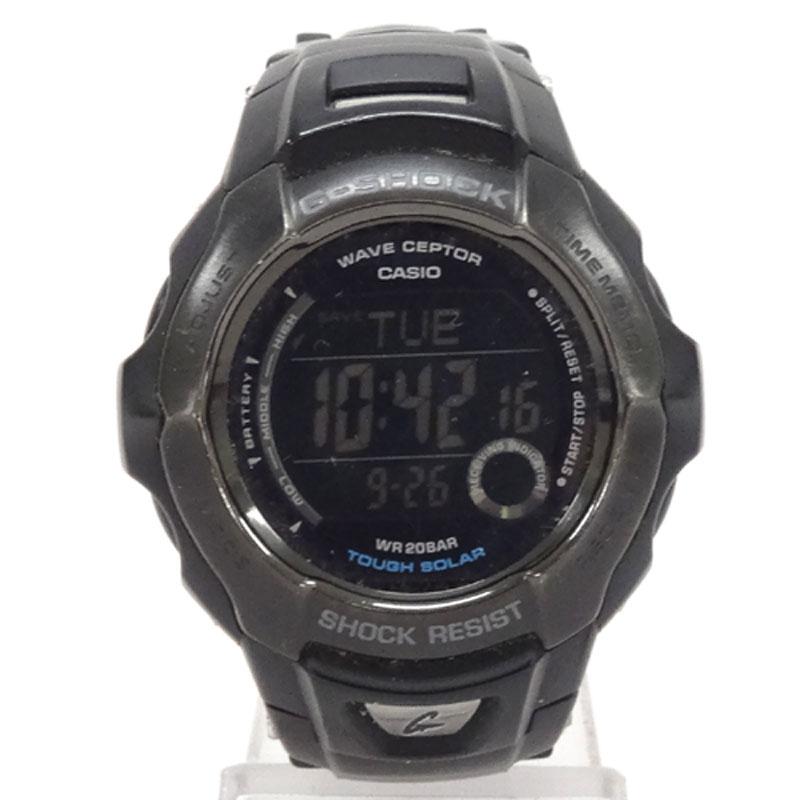 G-SHOCK (ジーショック) 時計/カラー:ブラック/GW-700BTJ/ソーラー/デジタル/カシオ《腕時計/ウォッチ》【服飾小物】【中古】【山城店】