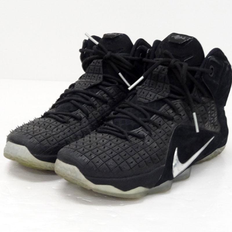 【中古】【メンズ古着】NIKE ナイキ LEBLON 12 EXT RC QS/サイズ:29cm/カラー:ブラック/スニーカー/靴 シューズ【山城店】