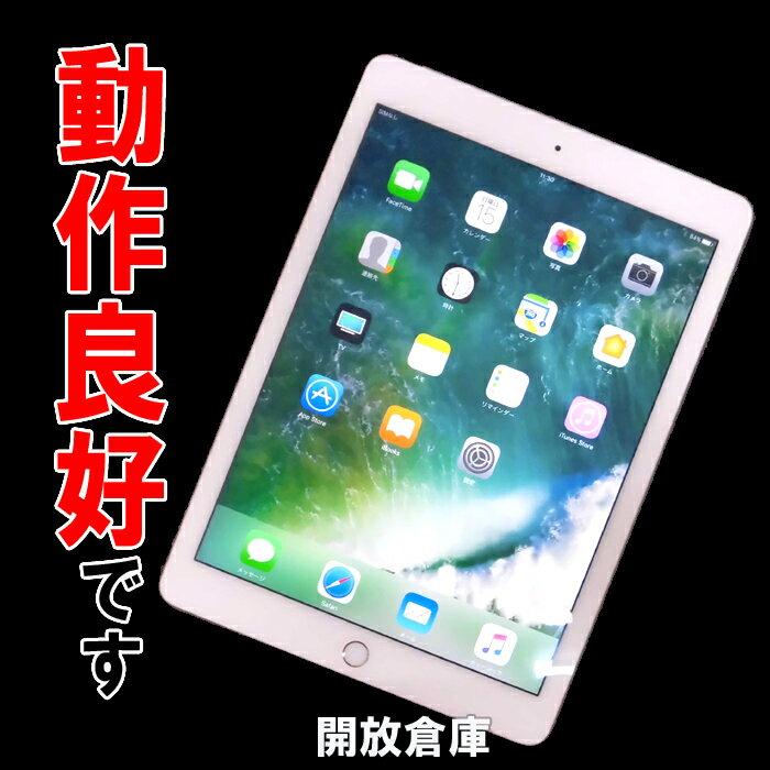 ★動作良好!Softbank版 iPad Air 2 Wi-Fi+Cellular 64GB ゴールド MH172J/A 【中古】【利用制限:▲】【iOS 10.2】【タブレットPC】【山城店】