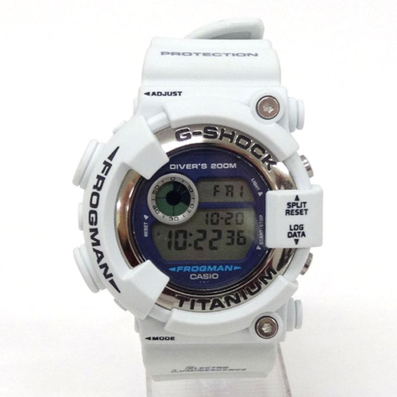 G-SHOCK ジーショック 時計/カラー:グレー系/DW-8200LG-8JR/FROGMAN/フロッグマン/カシオ/クオーツ《腕時計/ウォッチ》【服飾小物】【中古】【山城店】
