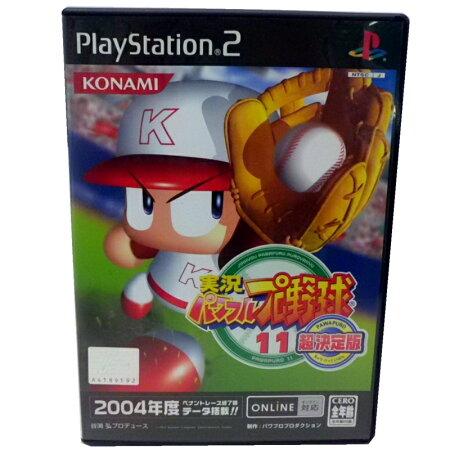 【中古】 コナミ PS2 実況パワフルプロ野球11超決定版 KONAMI/プレステ2【生活館】