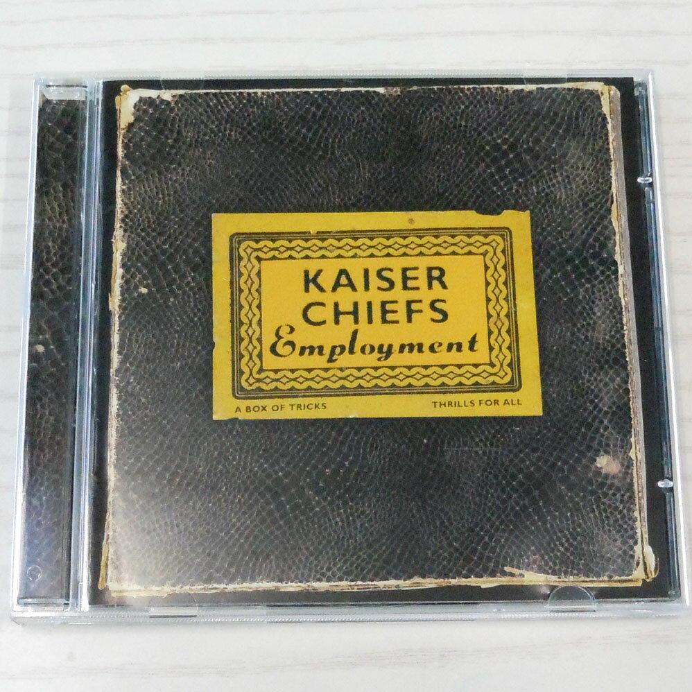 ♪Kaiser Chiefs / カイザー・チーフス【Employment】輸入盤/CD/洋楽/ロック【中古】【生活館】