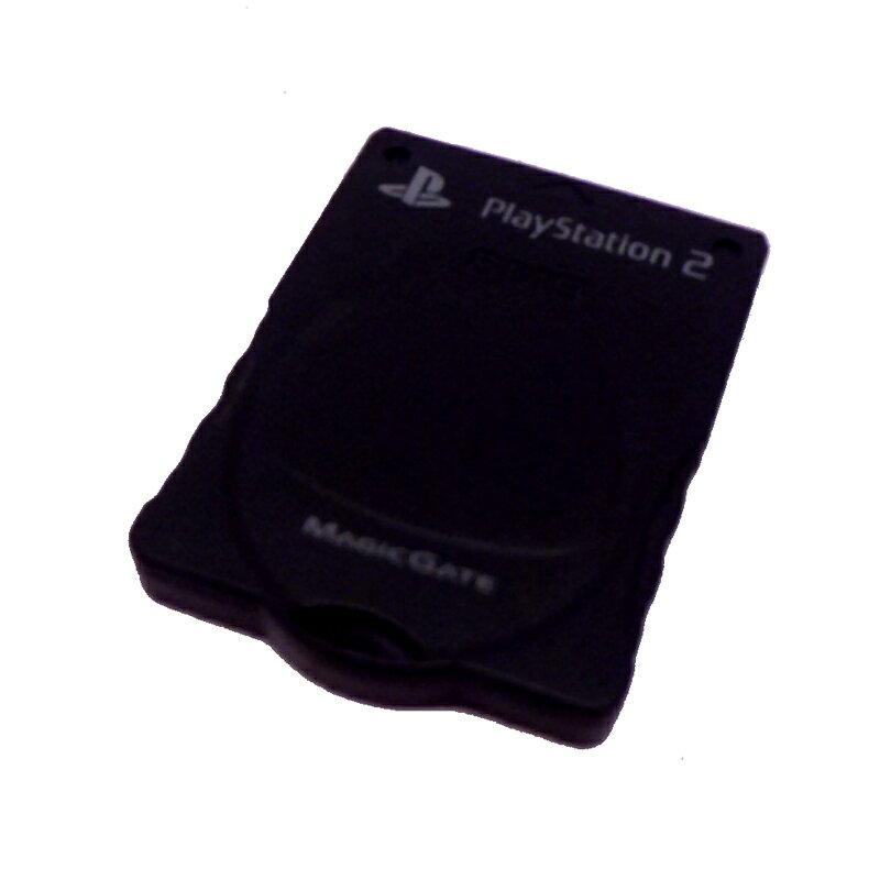 【中古】 KOTOBUKI PS2用メモリーカード 8MB 黒 ゲーム/周辺機器【生活館】