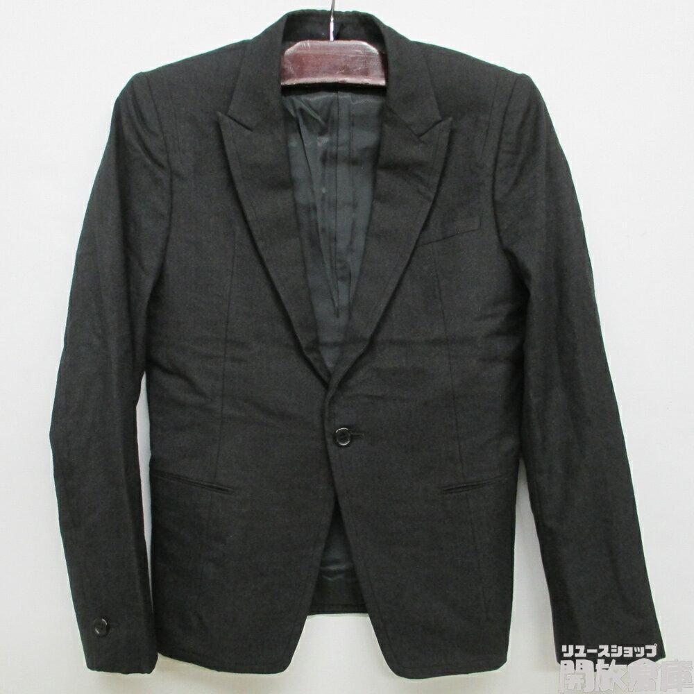 【中古】UNDERCOVERISM アンダーカバーイズム ジャケット ブラック ウール サイズ2【橿原店】【H】