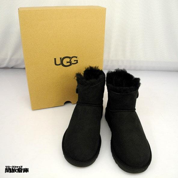 【中古】UGG アグ ムートンブーツ レディースシューズ 靴