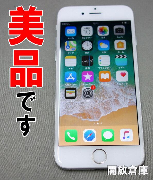 ★docomo Apple iPhone6 16GB MG482J/A シルバー【中古】【白ロム】【 353322070348181】【利用制限: 〇】【iOS 11.2.1】【スマートフォン】【山城店】