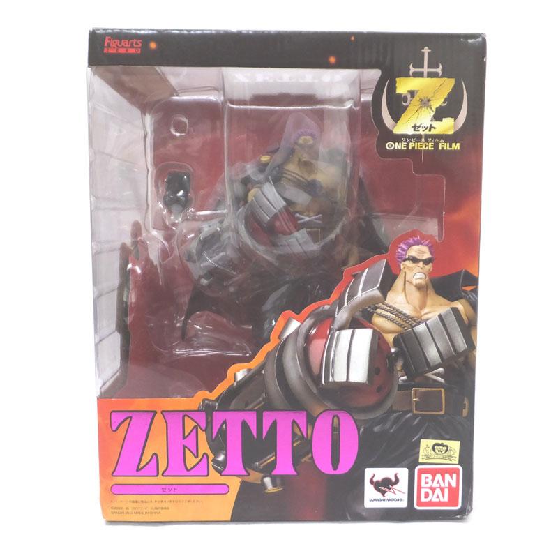 【中古】バンダイ Figuarts フィギュアーツ ZERO ゼット/ワンピース/ONE PIECE/フィギュア【おもちゃ】【山城店】