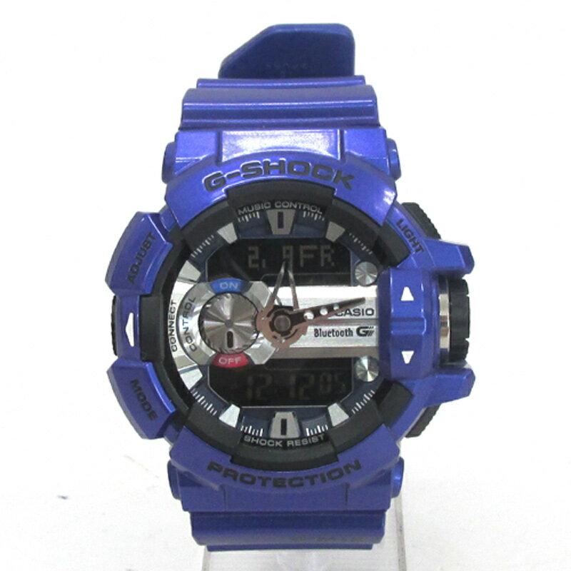 【中古】G-SHOCK ジーショック 時計/品番:GBA-400/カラー:パープル/多機能/クオーツ/海外モデル《腕時計/ウォッチ》【服飾小物】【山城店】