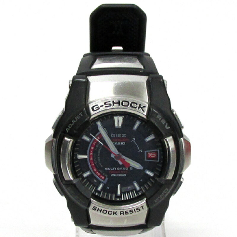 G-SHOCK ジーショック 腕時計/品番:GS-1200/カラー:ブラック/電波ソーラー/GIEZ/ジーズ《腕時計/ウォッチ》【服飾小物】【中古】【山城店】