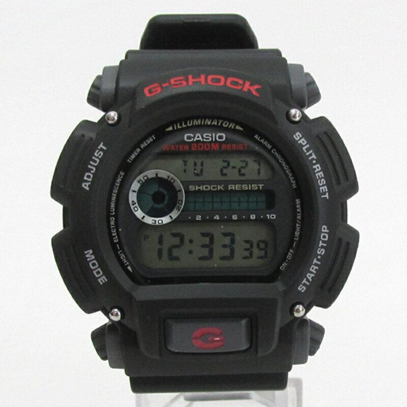 CASIO カシオ G-SHOCK ジーショック 腕時計/品番:DW-9052/ブラック/海外モデル/防水/多機能/クオーツ《腕時計/ウォッチ》【服飾小物】【中古】【山城店】