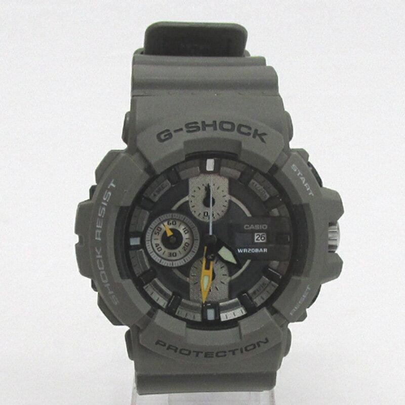 CASIO カシオ G-SHOCK ジーショック 腕時計/品番:GAC-100/カラー:グレー系/20気圧防水/クオーツ《腕時計/ウォッチ》【服飾小物】【中古】【山城店】
