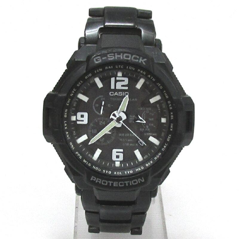 CASIO カシオ G-SHOCK ジーショック 腕時計/品番:G-1400D/カラー:ブラック/ソーラー/アナログ《腕時計/ウォッチ》【服飾小物】【中古】【山城店】