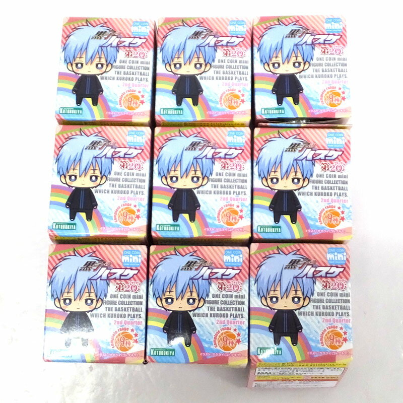 【中古】ワンコインミニフィギュアコレクション 黒子のバスケ 第2Q 壽屋 KOTOBUKIYA/フィギュア【おもちゃ】【山城店】